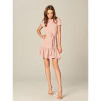 Mohito Sukienka z falbaną i wiązaniem UE045-39X