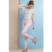 Monnari Pastelowe spodnie na co dzień SPOIMP0-18L-TRU0730-K026D000-R36