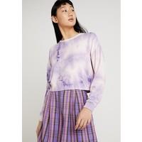 New Look BRUSHED TIE DYE Bluzka z długim rękawem purple NL021I0DD