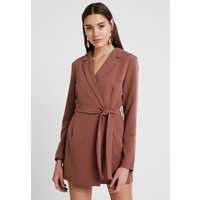 Nly by Nelly WRAP PLAYSUIT Kombinezon brown NEG21T000