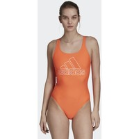 adidas Performance ATHLY V LOGO SWIMSUIT Kostium kąpielowy orange AD581G02U