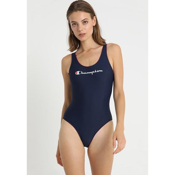Champion SWIMSUIT Kostium kąpielowy dark blue C7681G000