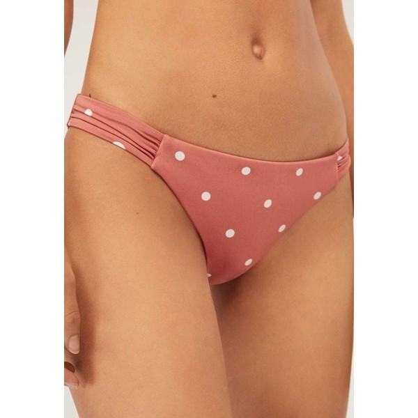 OYSHO POLKA DOT BRAZILIAN Dół od bikini light pink OY181I08G