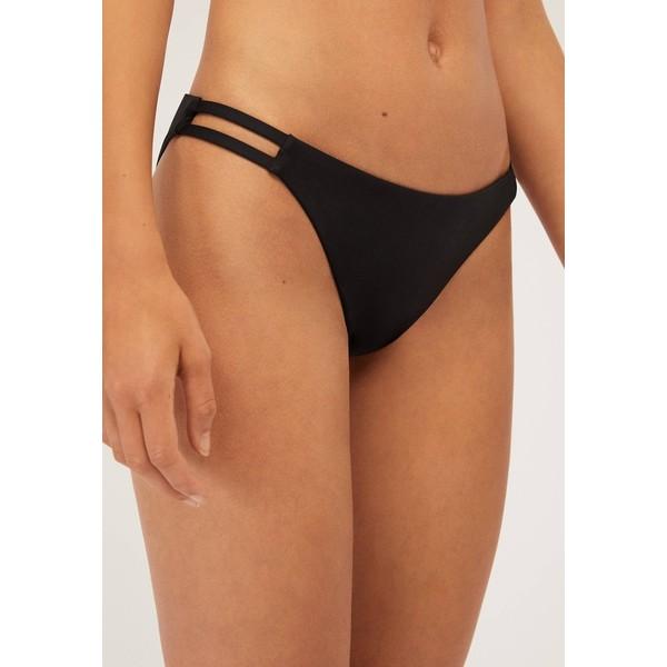 OYSHO MIT BANDDETAIL Dół od bikini black OY181R0I6