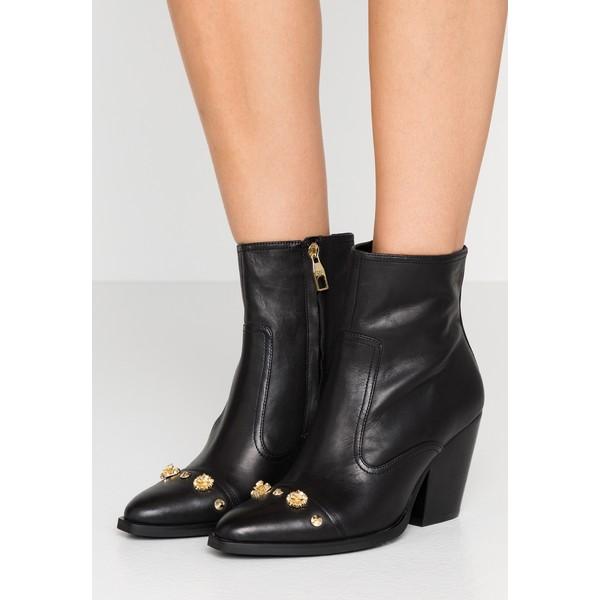 Versace Jeans Couture LINEA FONDO CAMPEROS Botki black