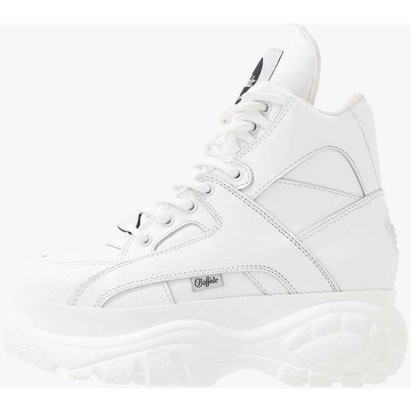 Buffalo London Sneakersy wysokie white BUB11A00I