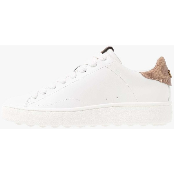 Coach TOP WITH SIGNATURE Sneakersy niskie whitetan