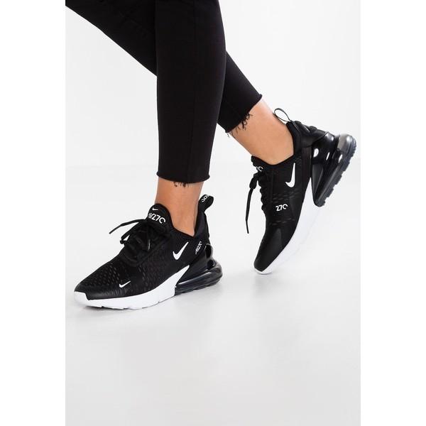 Nike Sportswear AIR MAX 270 Tenisówki i Trampki whiteblack bialy Zalando