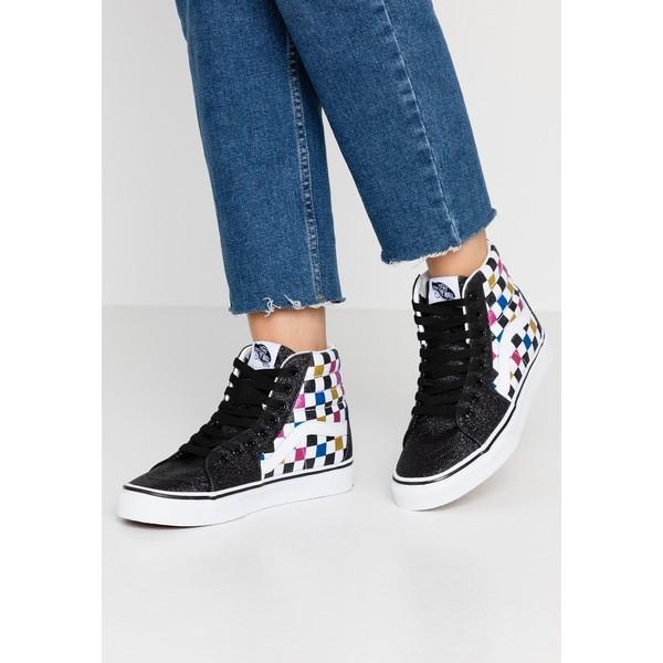 Vans SK8 Sneakersy wysokie glitter blacktrue white