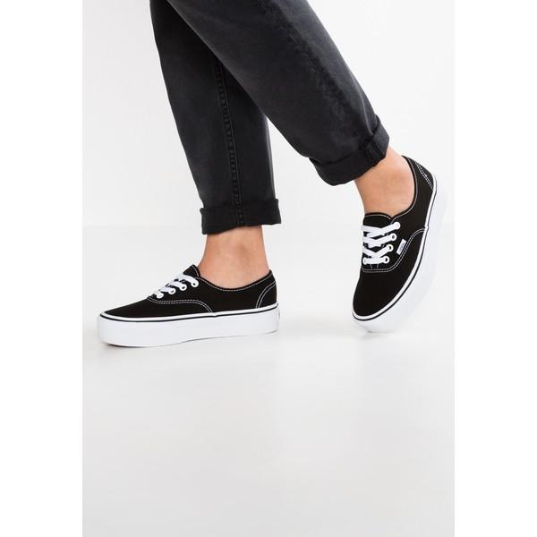 Vans AUTHENTIC PLATFORM 2.0 Sneakersy niskie black VA211A061
