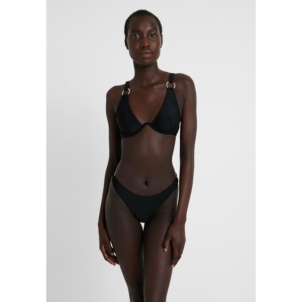 Missguided RING DETAIL TRIANGLE EXCLUSIVE Bikini black M0Q81L01E