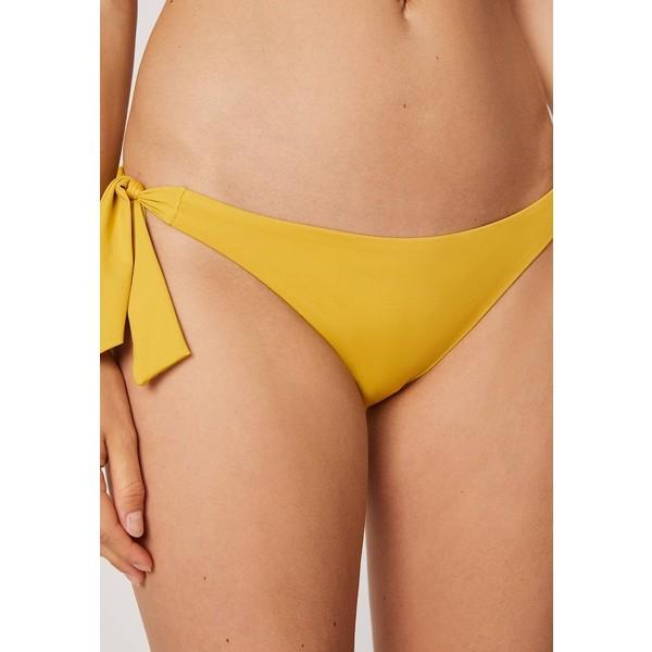 OYSHO MIT SCHLEIFEN Dół od bikini yellow OY121G008