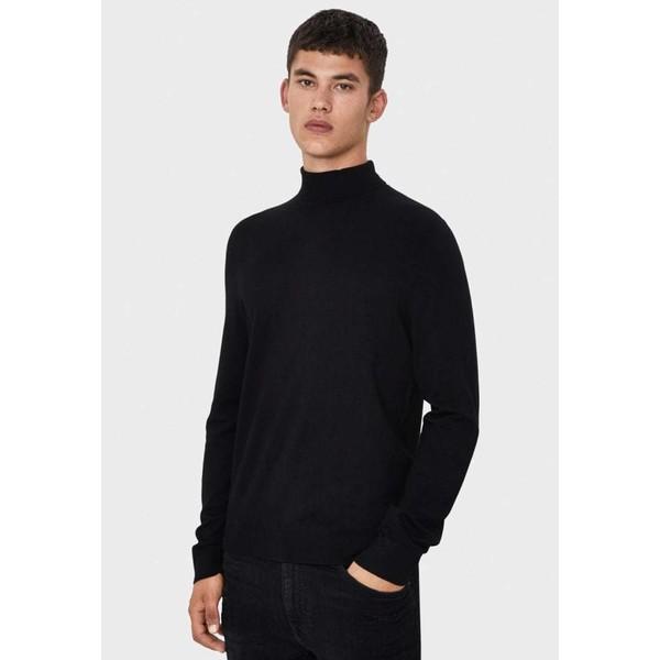 Bershka Sweter black BEJ22O05R