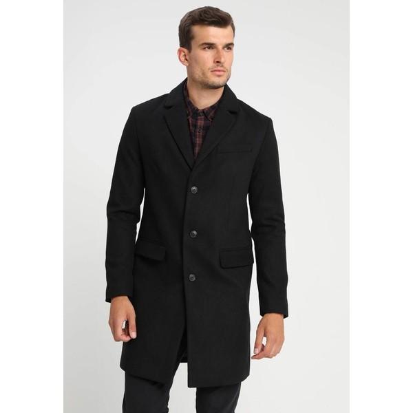 Pier One Płaszcz wełniany /Płaszcz klasyczny black PI922T00P
