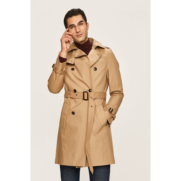 Tommy Hilfiger Tailored Płaszcz 4910-KPM018