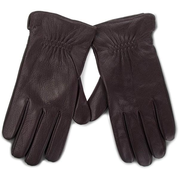 Rękawiczki męskie Lasocki 2M6-004-AW18 Brązowy