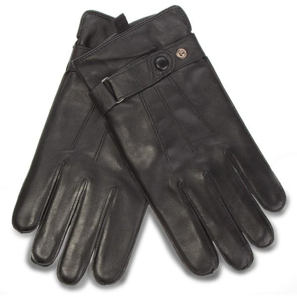Rękawiczki męskie Lasocki 2M6-001-AW18 Czarny