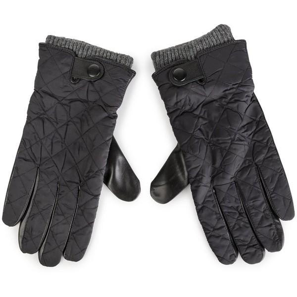 Rękawiczki męskie Lasocki 2M6-002-AW19 Czarny