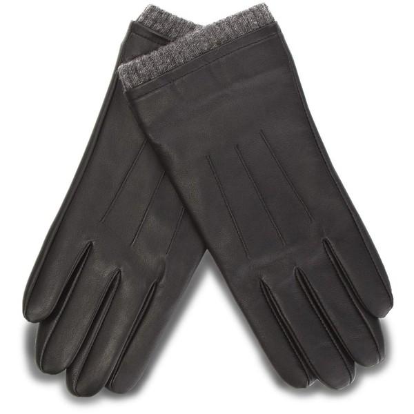 Rękawiczki męskie Lasocki 2M6-002-AW18 Czarny