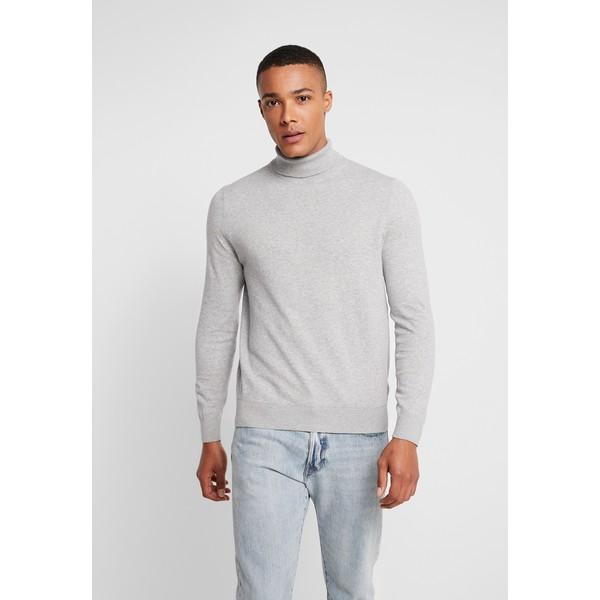 Burton Menswear London CORE ROLL Sweter grey M0822Q077
