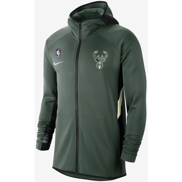 Nike Milwaukee Bucks Therma Flex Showtime Męska bluza z kapturem NBA AT8476