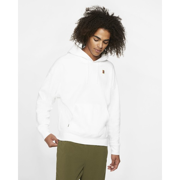Nike Court Męska dzianinowa bluza z kapturem BV0760