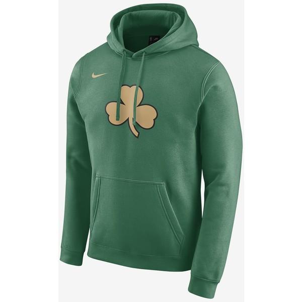 Nike Celtics City Edition Logo Męska bluza z kapturem NBA CD3216