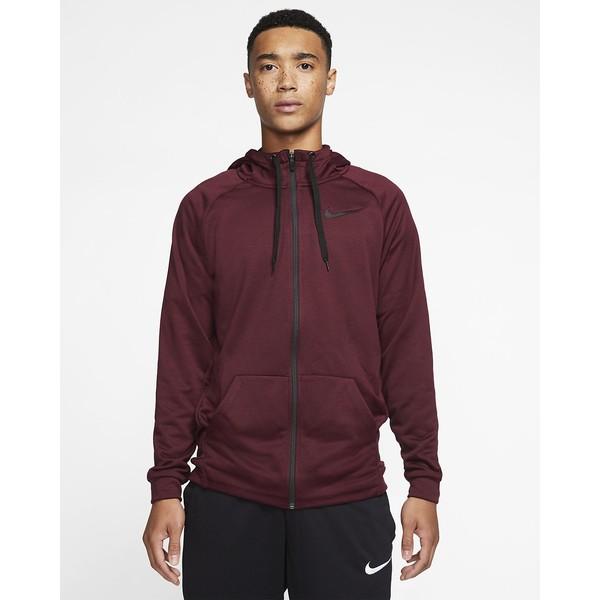 Nike Dri-FIT Męska bluza treningowa z kapturem i zamkiem na całej długości 860465