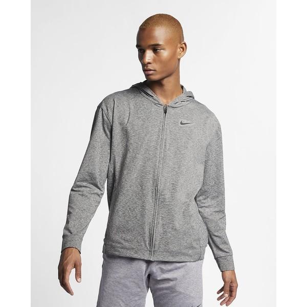 Nike Dri-FIT Męska rozpinana bluza treningowa z kapturem do jogi BQ2864