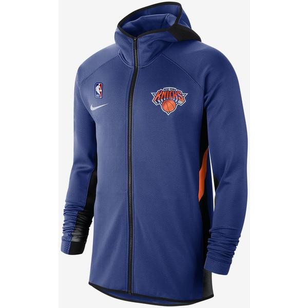 Nike New York Knicks Therma Flex Showtime Męska bluza z kapturem NBA AT8482
