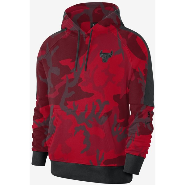 Nike Chicago Bulls Męska bluza z kapturem NBA BQ5021