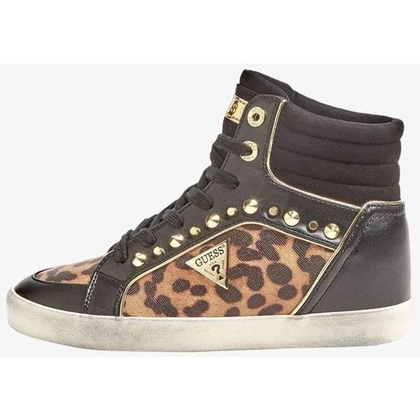 Guess Sneakersy wysokie black GU111A0MF UbierzmySie.pl