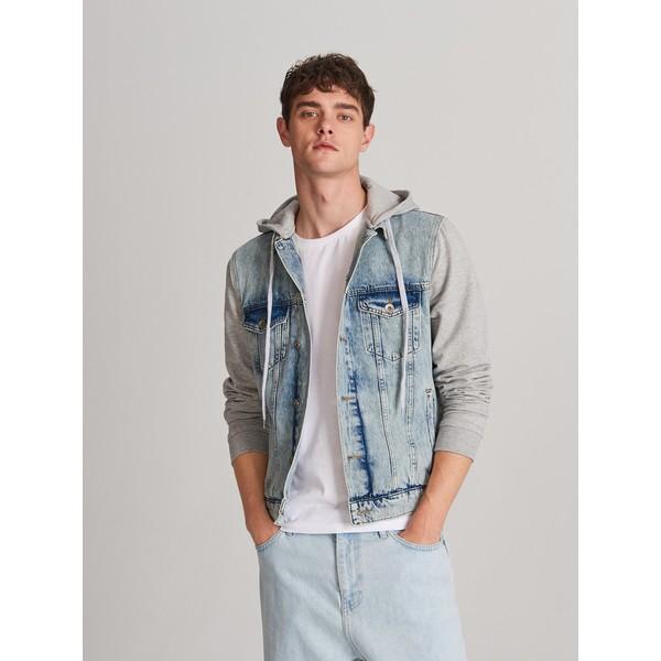 Reserved Kurtka z jeansu i dzianiny XY860-55J