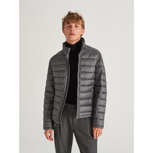 Reserved Pikowana kurtka ze stójką WF410-90X