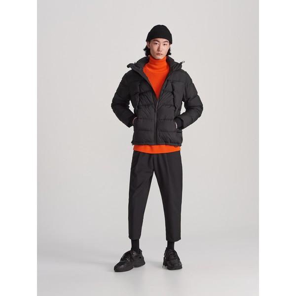 Reserved Pikowana kurtka z kapturem WH929-99X