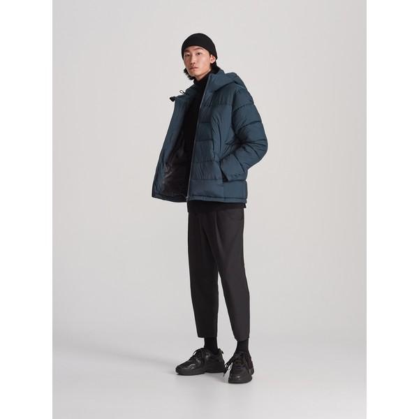 Reserved Pikowana kurtka z kapturem WH929-69X
