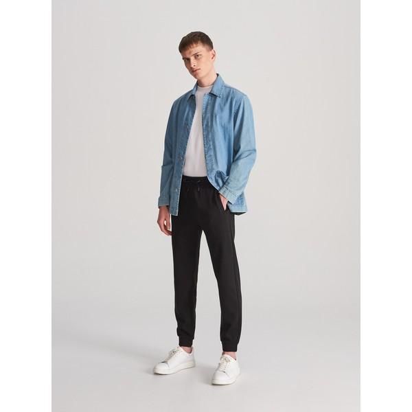 Reserved Spodnie dresowe slim fit WK339-99X