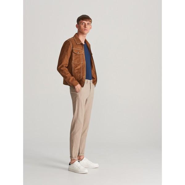 Reserved Bawełniane spodnie slim fit WK338-80M