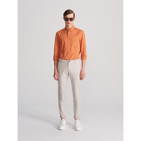 Reserved Bawełniane spodnie slim fit WK386-08P