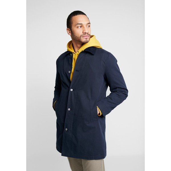 Levi's® LONG UTILITY COAT Krótki płaszcz nightwatch blue LE222T02S