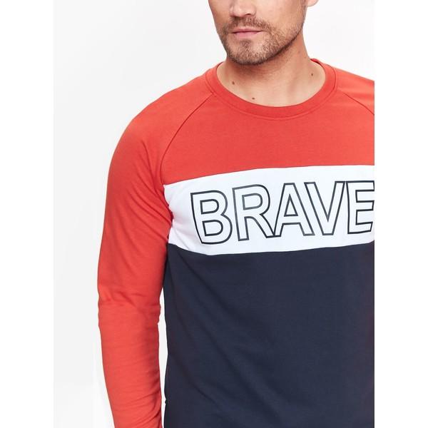 Top Secret bluza męska multikolorowa z suwakami po bokach SBL0619