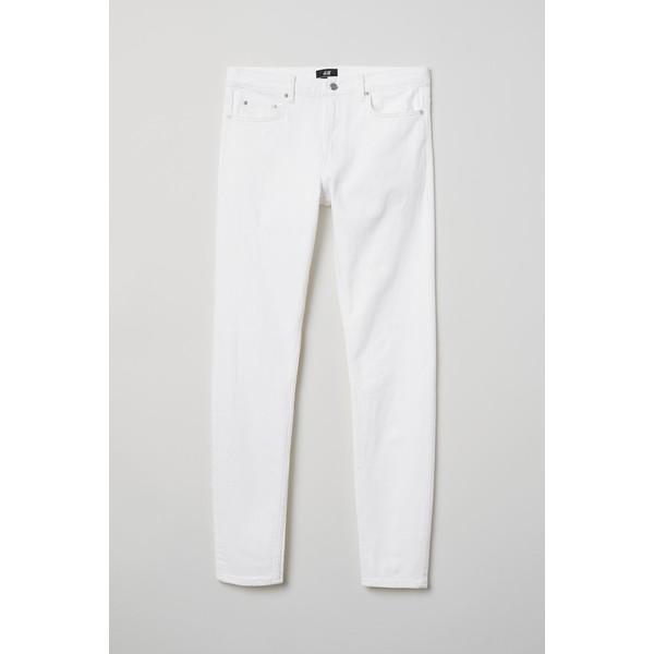 H&M Skinny Jeans 0664647026 Biały
