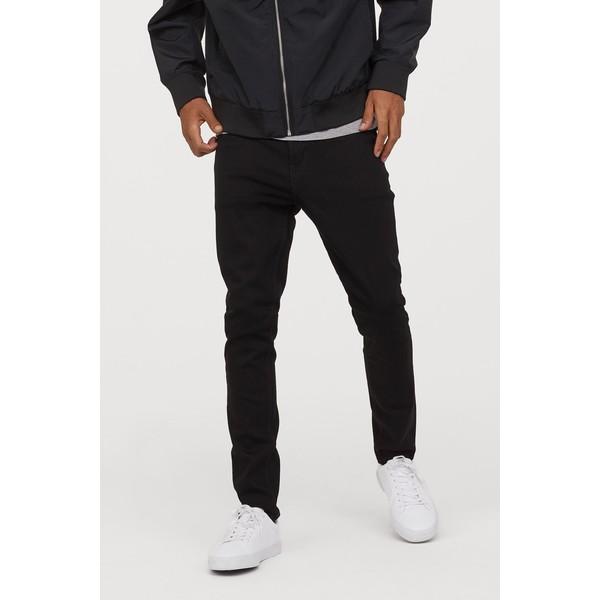 H&M Skinny Jeans 0664647026 Czarny