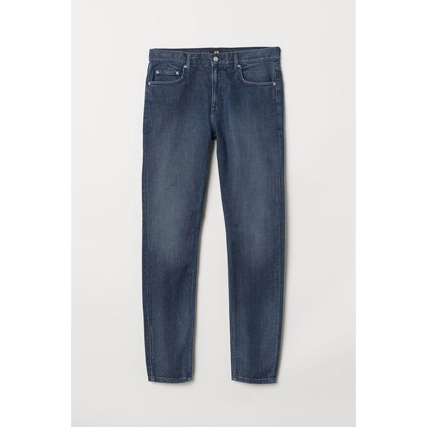 H&M Skinny Jeans 0664647026 Ciemnoniebieski denim
