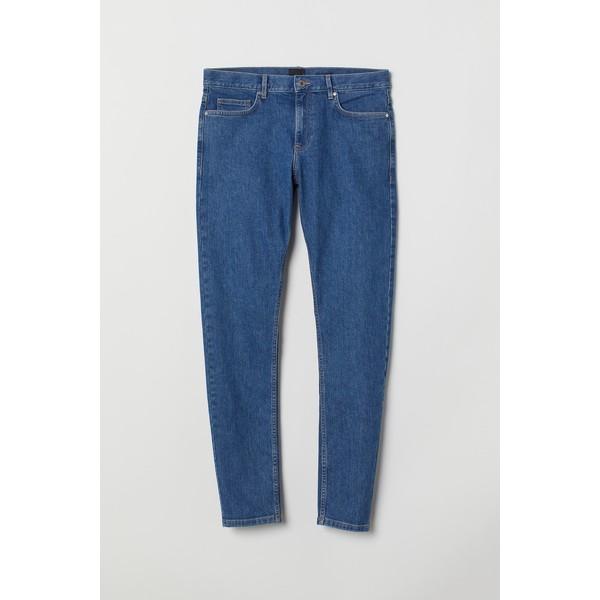 H&M Skinny Jeans 0664647026 Niebieski denim