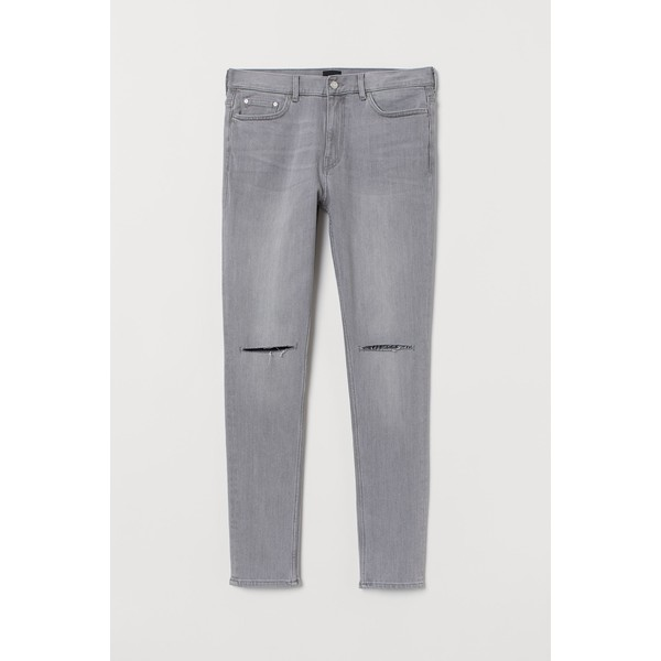 H&M Skinny Jeans 0664647026 Szary