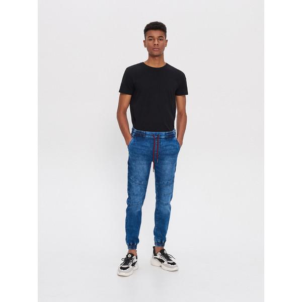 House Denimowe spodnie jogger slim XL189-55J