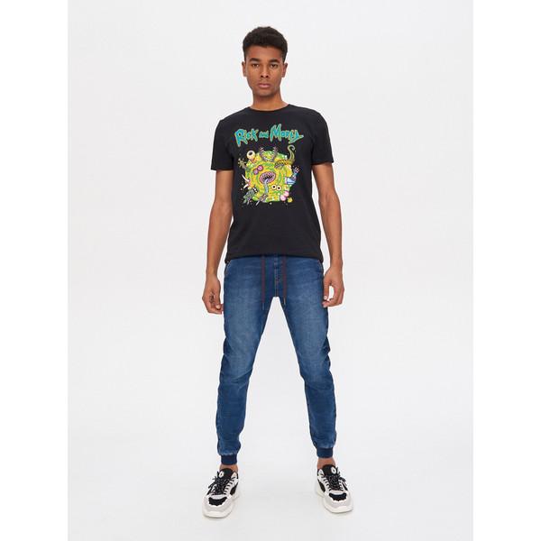 House Denimowe spodnie jogger slim XL177-95J