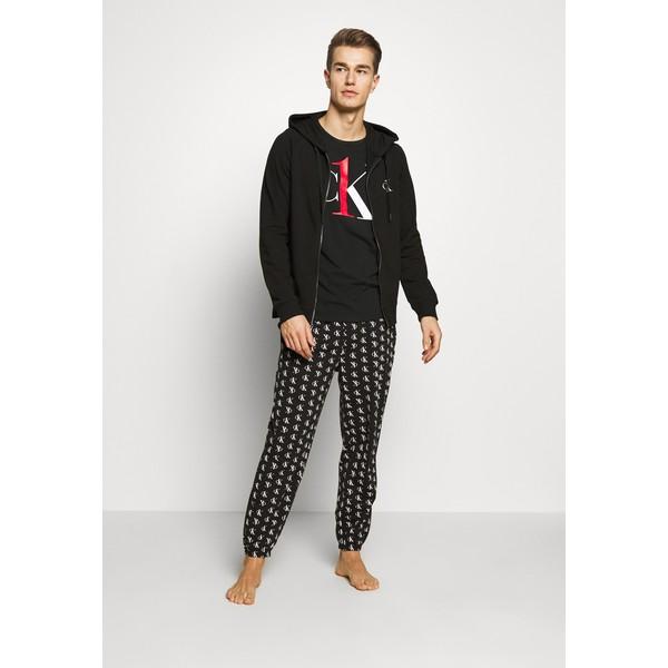 Calvin Klein Underwear CK ONE FULL ZIP HOODIE Koszulka do spania black C1182N00U