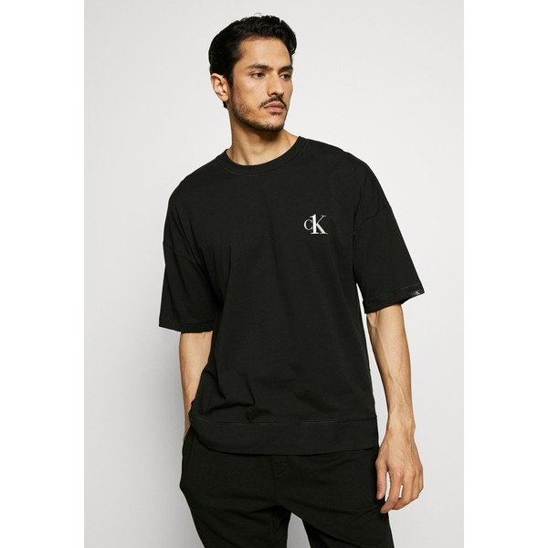 Calvin Klein Underwear CK ONE CREW NECK Koszulka do spania black C1182N00V